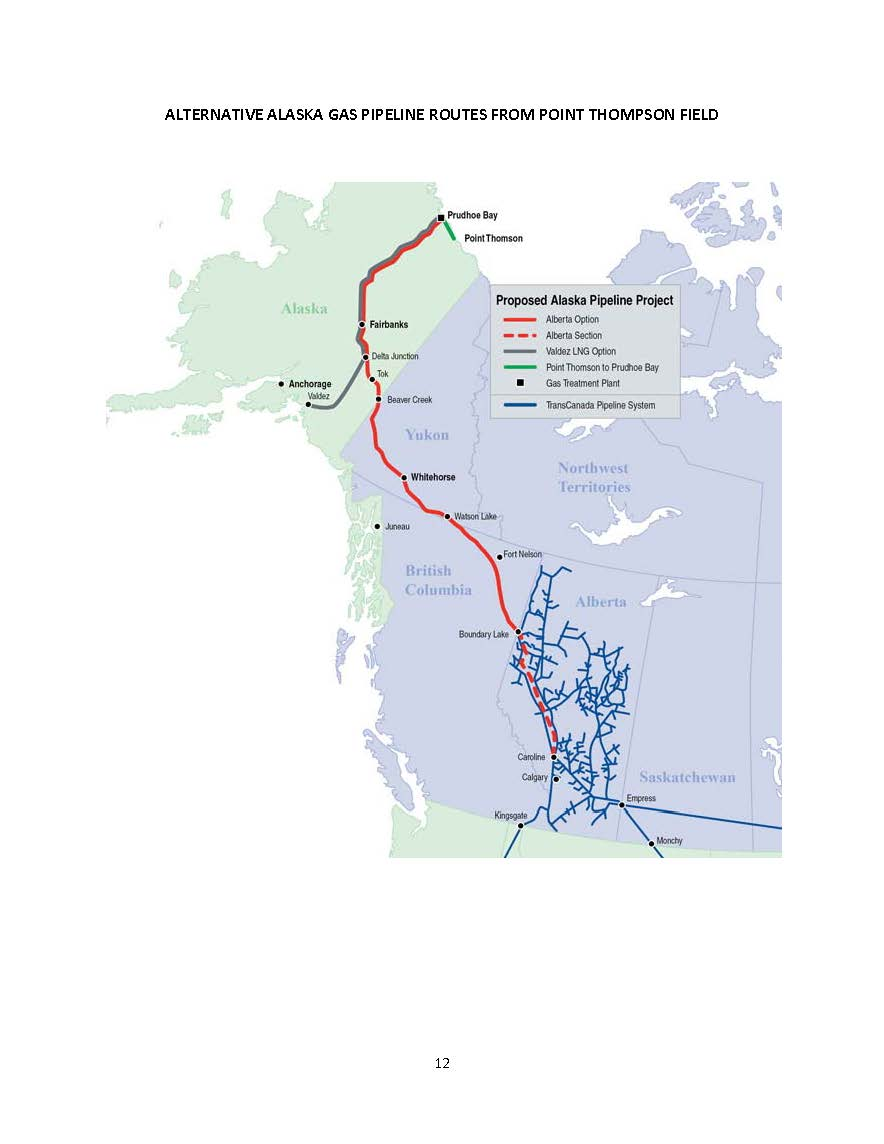 Point Thompson Alaska Map.Liquefied Natural Gas For Hawaii Sourcing And Transportation